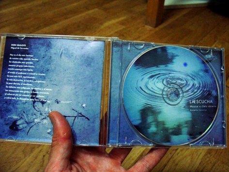 CD laescucha, de música para Bell -hand drum